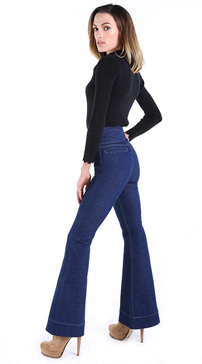 Damen Jeans Schweiz, hight waisted jeans